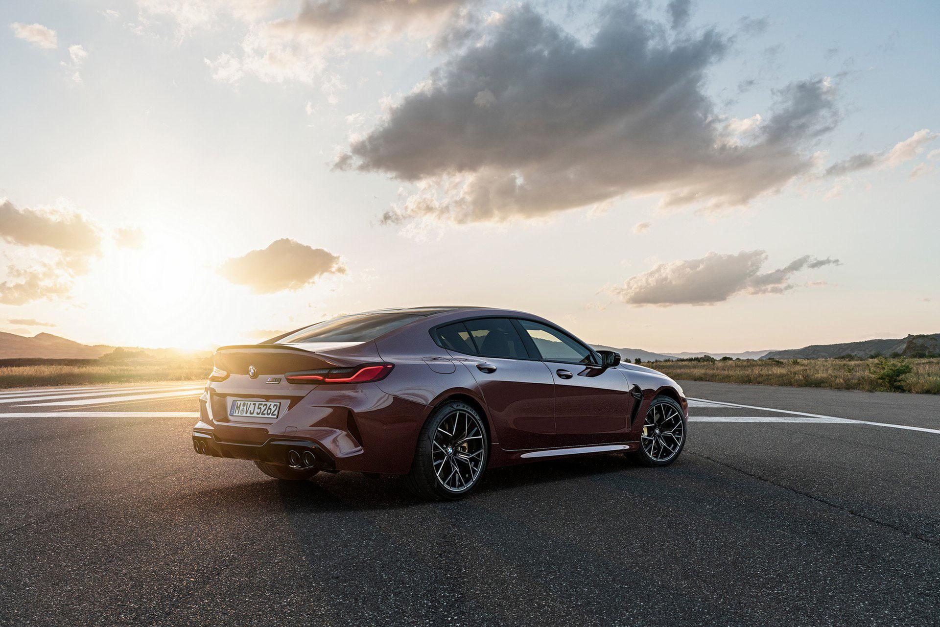 BMW rullar ut M8 Gran Coupé