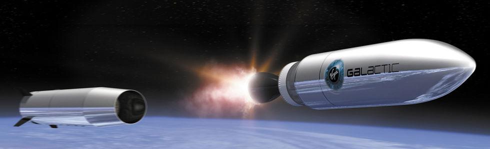 Boeing köper in sig i Virgin Galactic
