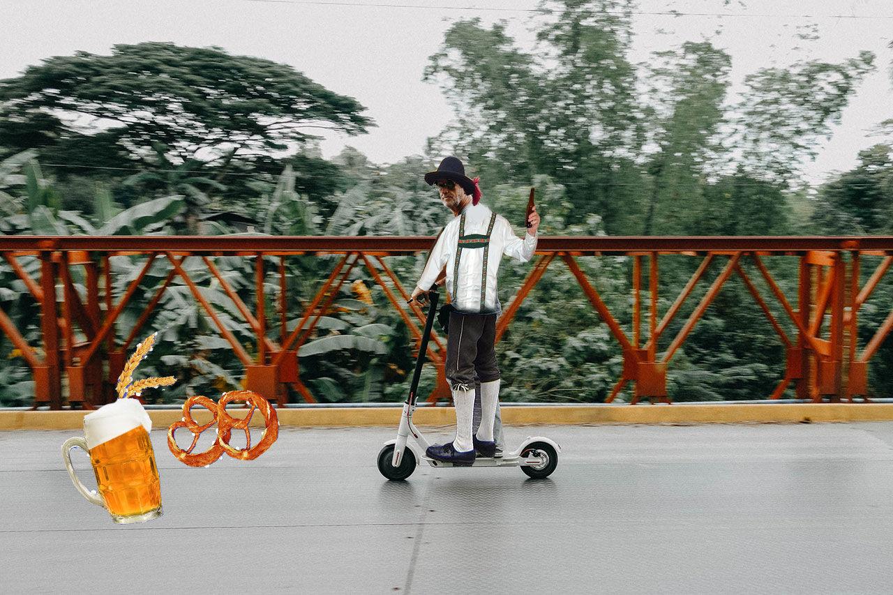 254 elscooter-förare blev av med körkortet under Oktoberfest