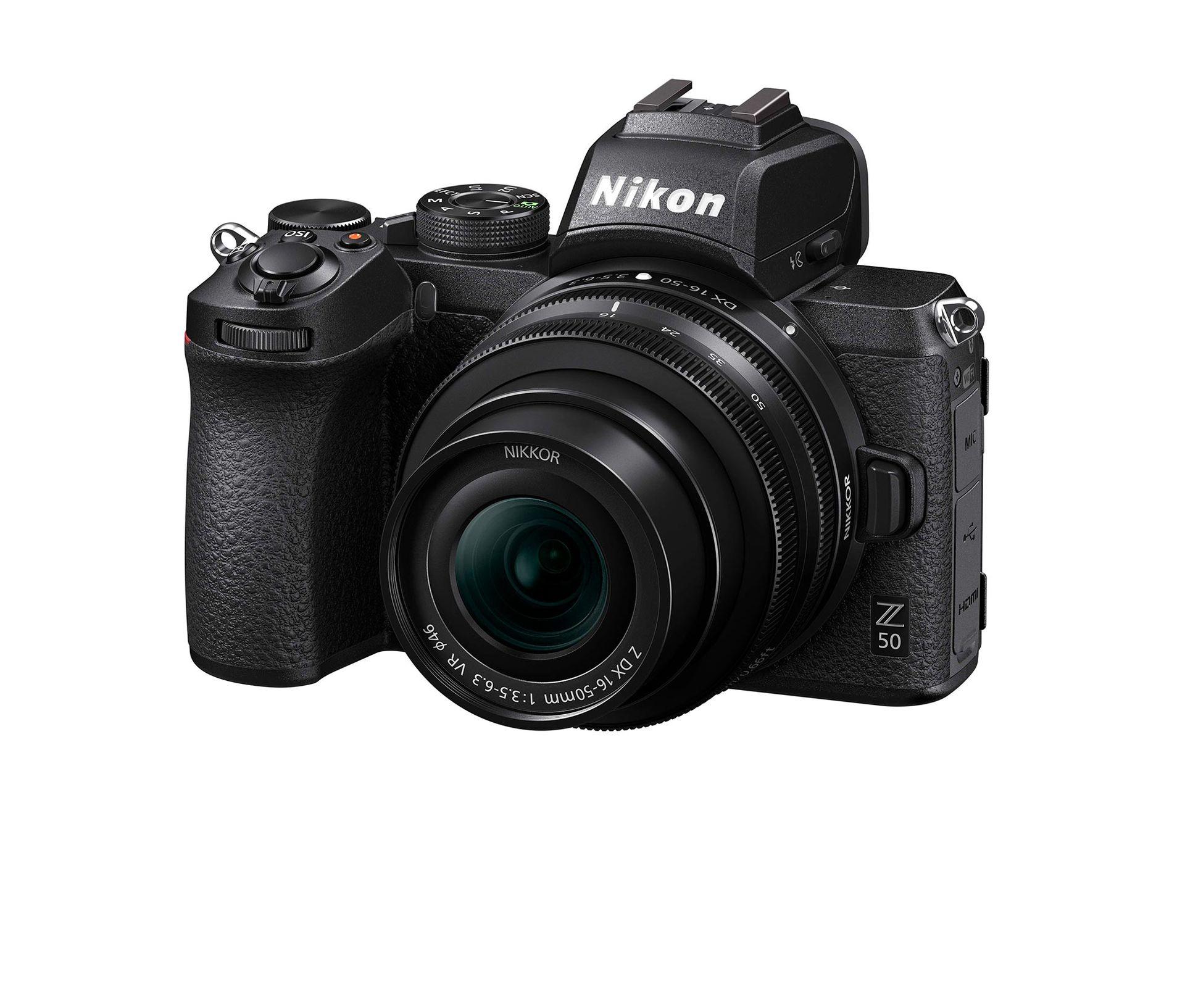 Nikon släpper spegellösa Z 50