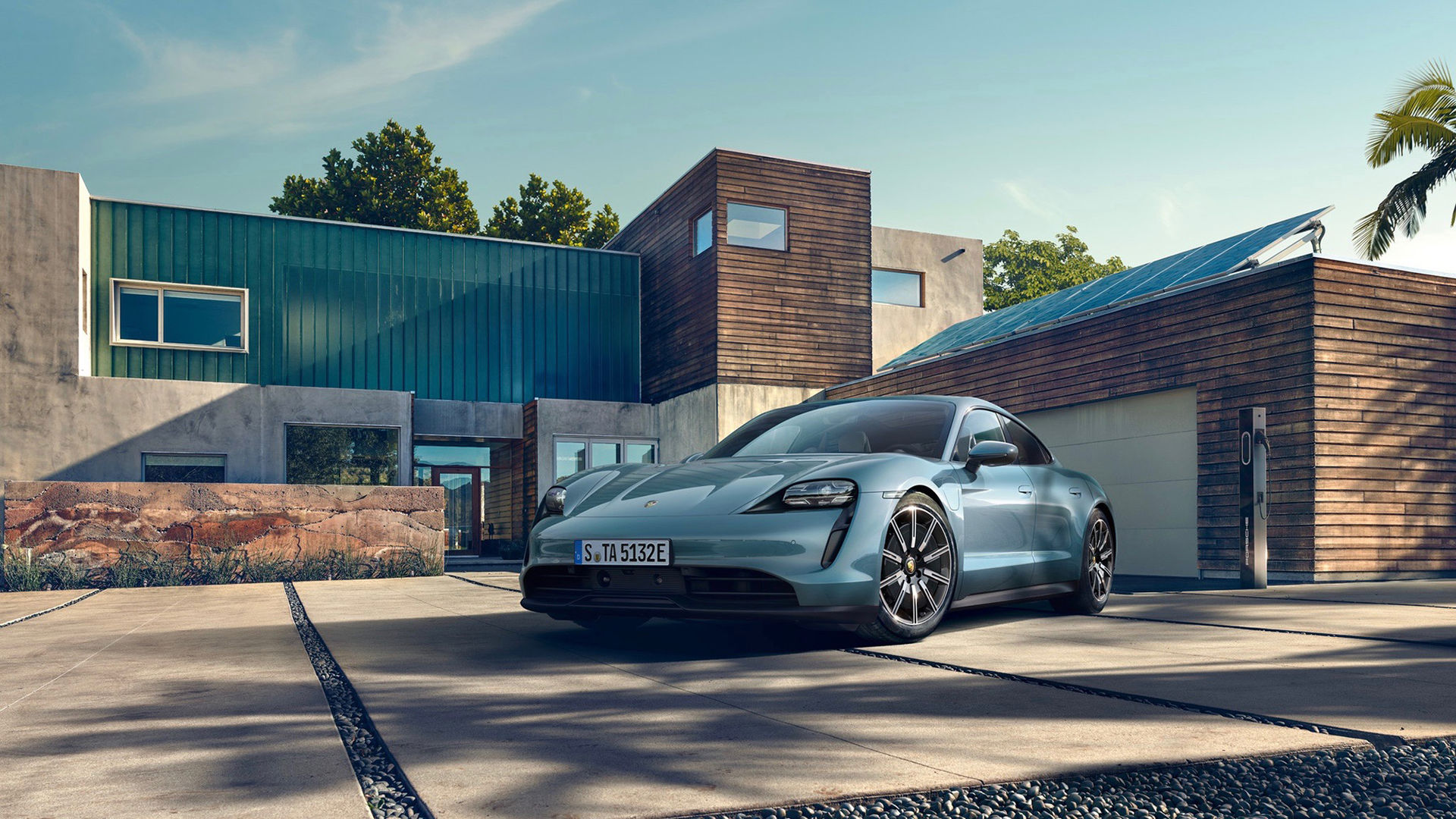 Porsche rullar ut Taycan 4S