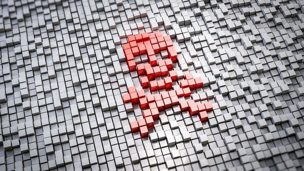 Ransomware-gäng hackades