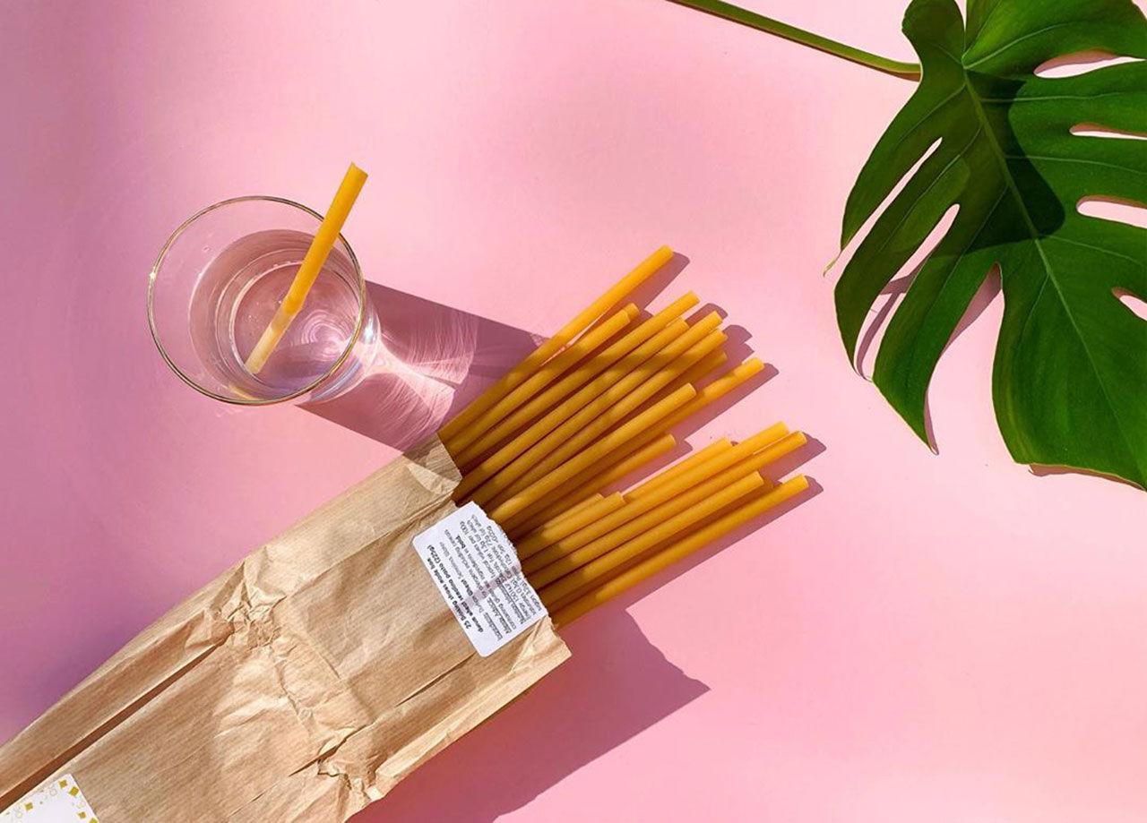 Sugrör av pasta borde ju vara en geni-idé