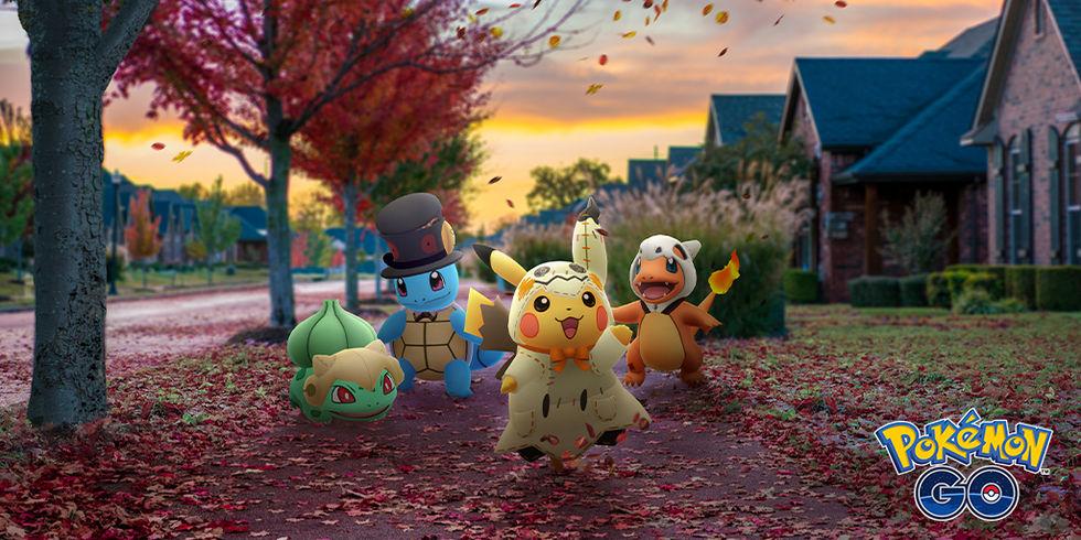 Pokémon Go:s Halloween-firande drar igång på torsdag
