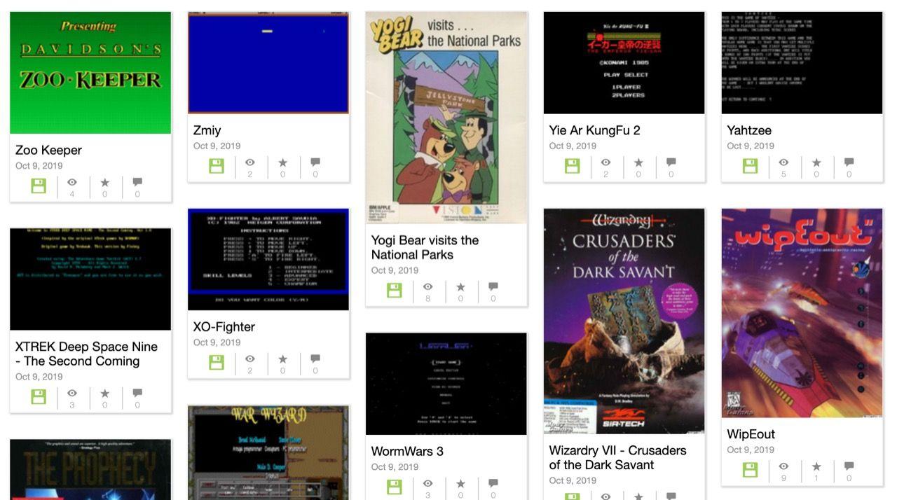 Internet Archive släpper 2500 MS-DOS-spel