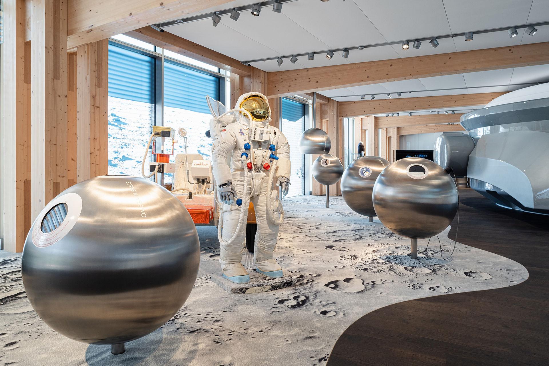 Omega öppnar museum i Biel