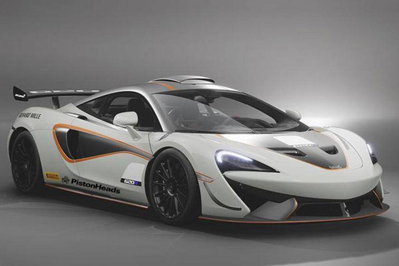 McLaren 620R läcker ut