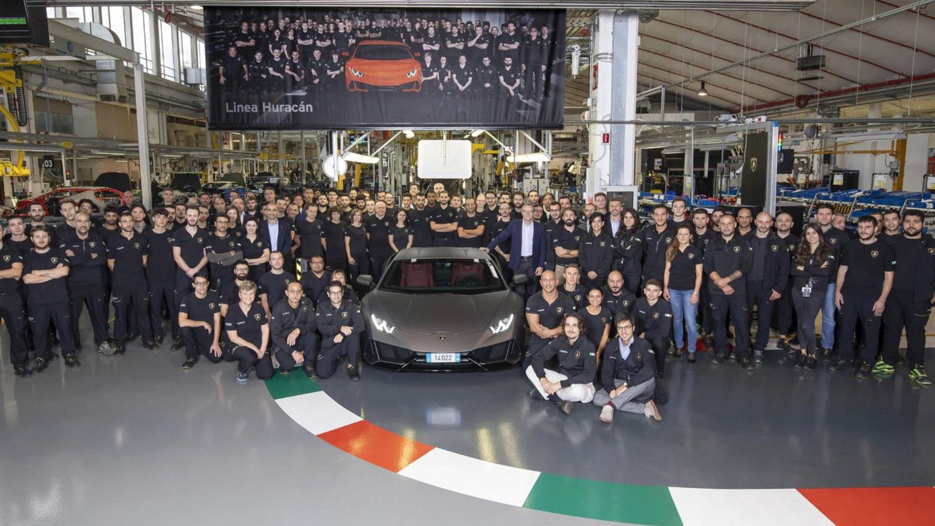 Lamborghini Huracán passerar nu Gallardo i antal tillverkade