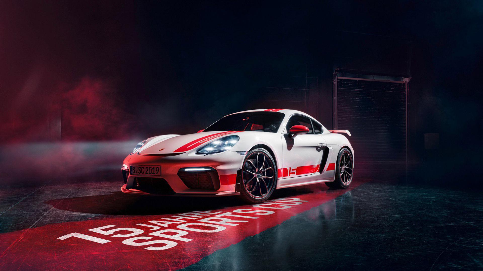 Porsche släpper specialversion av 718 Cayman GT4