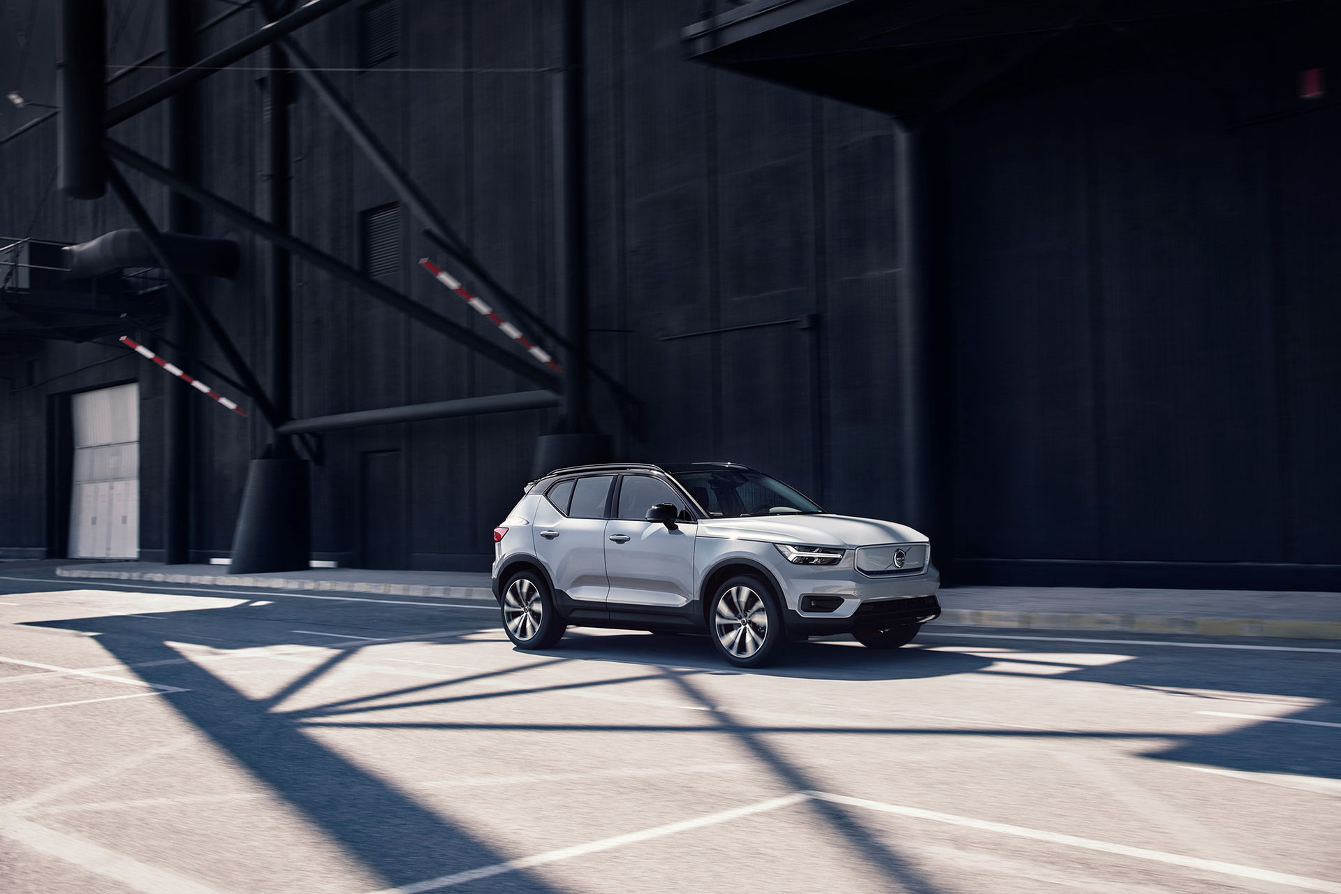 Nu är den här - Volvos första riktiga elbil