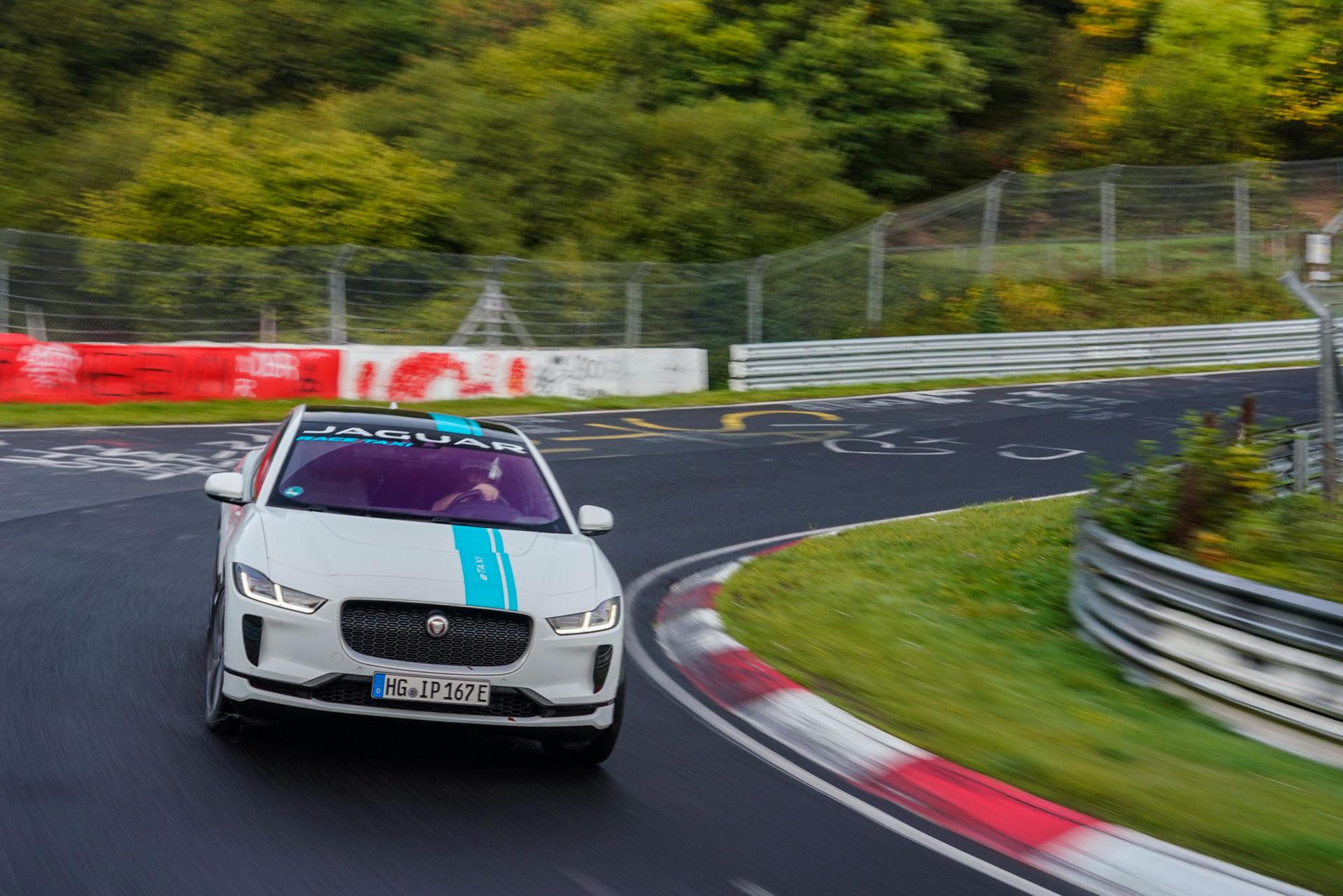 Nürburgring har fått sin första eldrivna taxi