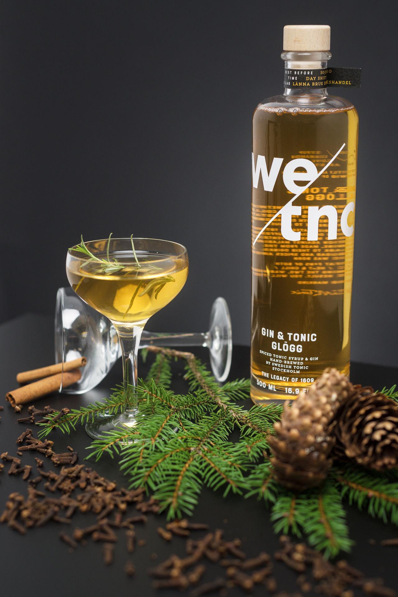 Färdig Gin & Tonic-glögg från Swedish Tonic