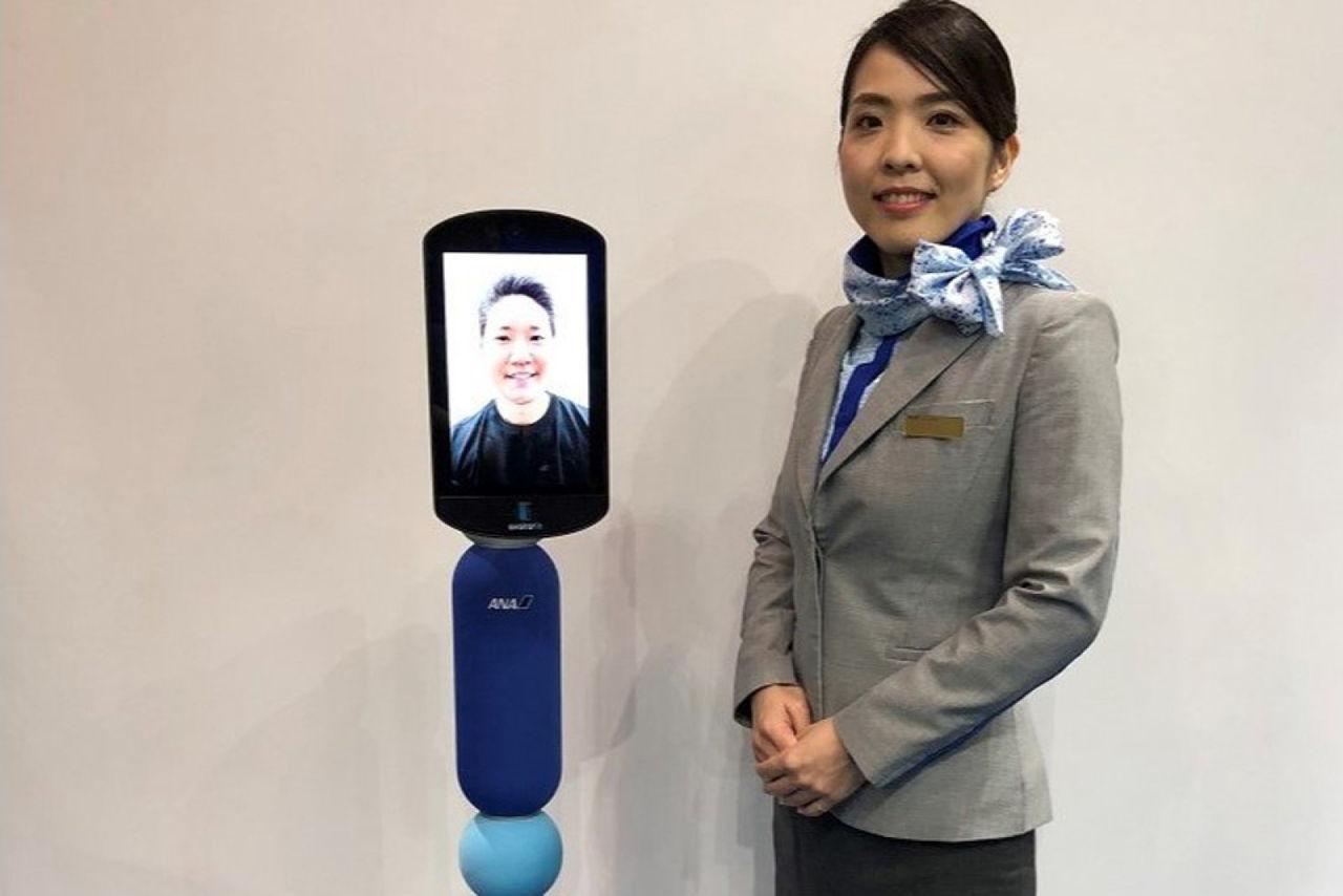 Japanskt flygbolag lanserar reserobotar