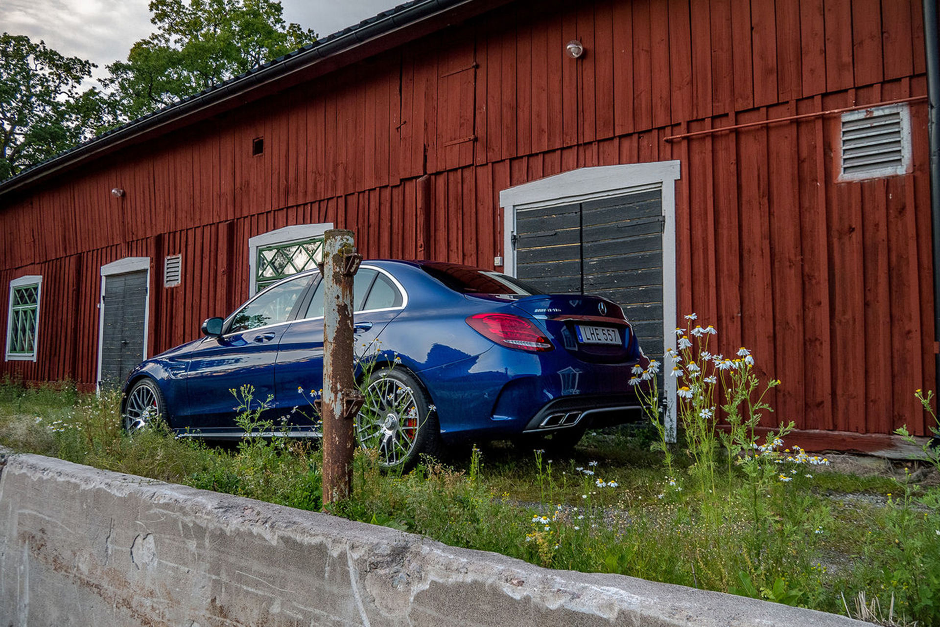 Mercedes-AMG C63 kommer att få turbofyra