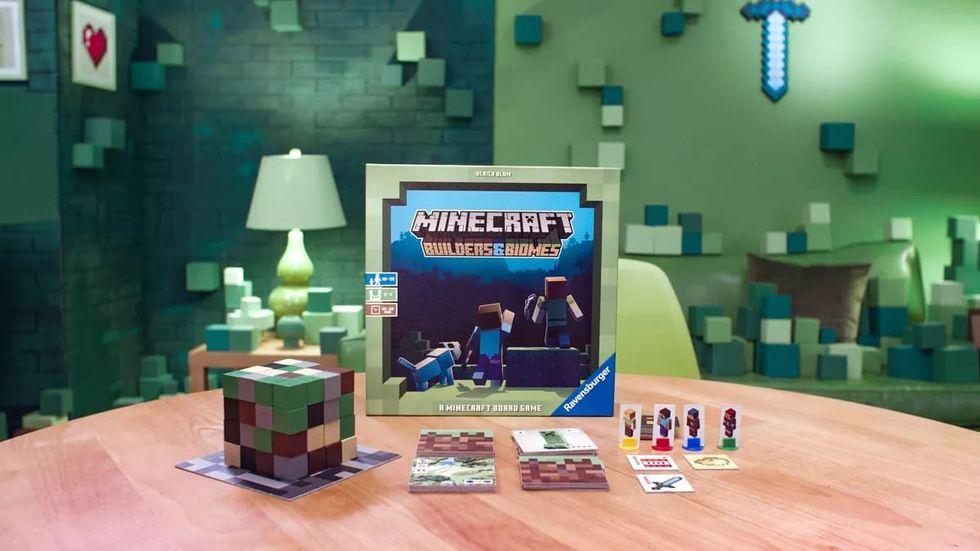 Minecraft släpps som brädspel