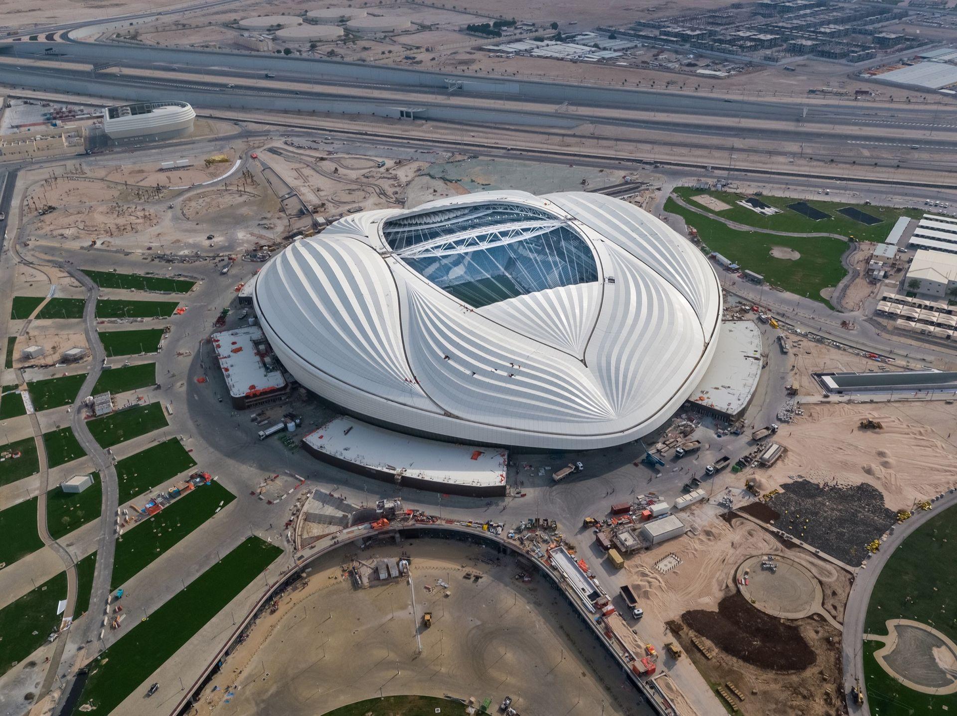 Qatar börjar med luftkonditionering utomhus