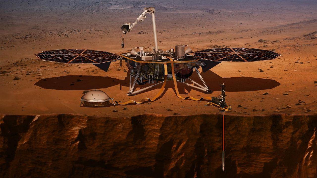 NASA har fått loss sin mullvad på Mars