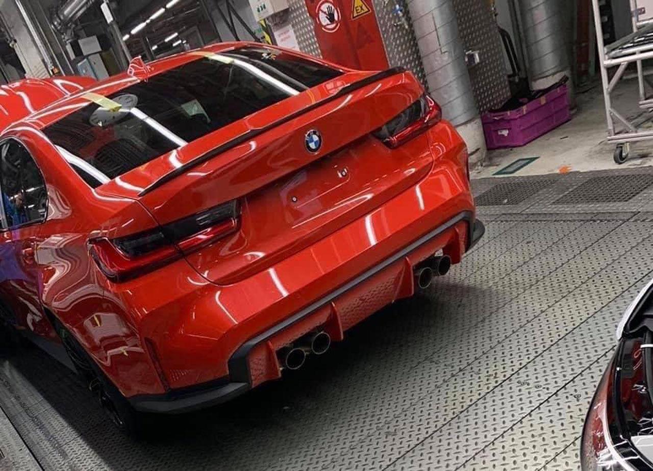 Baken på nästa BMW M3 läcker ut