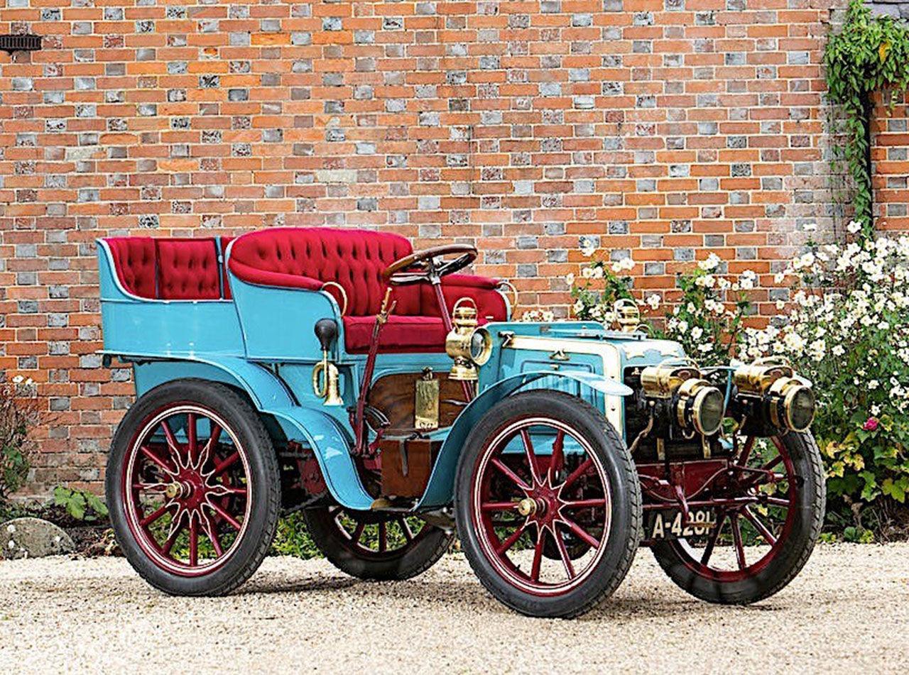 En av världens äldsta bilar auktioneras ut