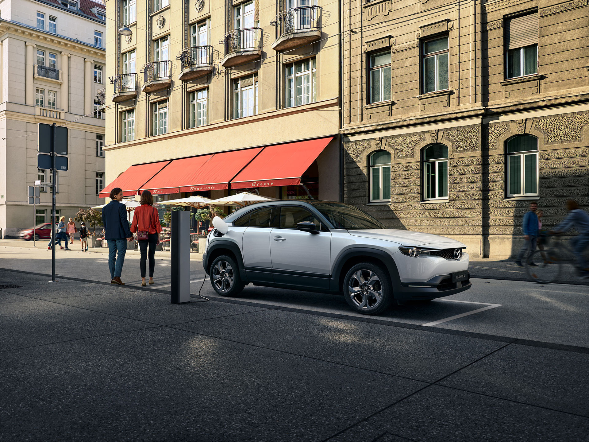 Mazda presenterar elbilen MX-30
