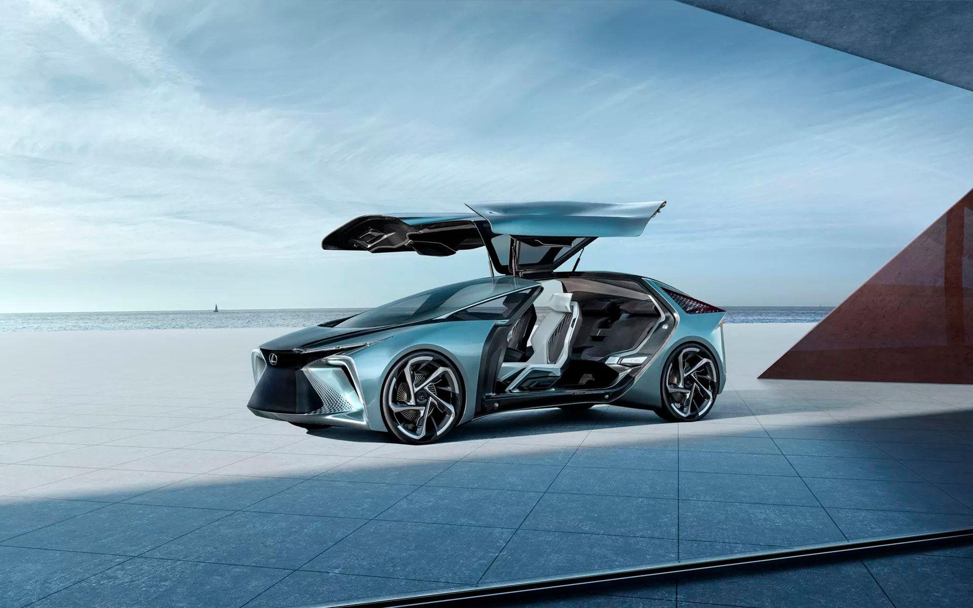 Lexus presenterar elbilskonceptet LF-30