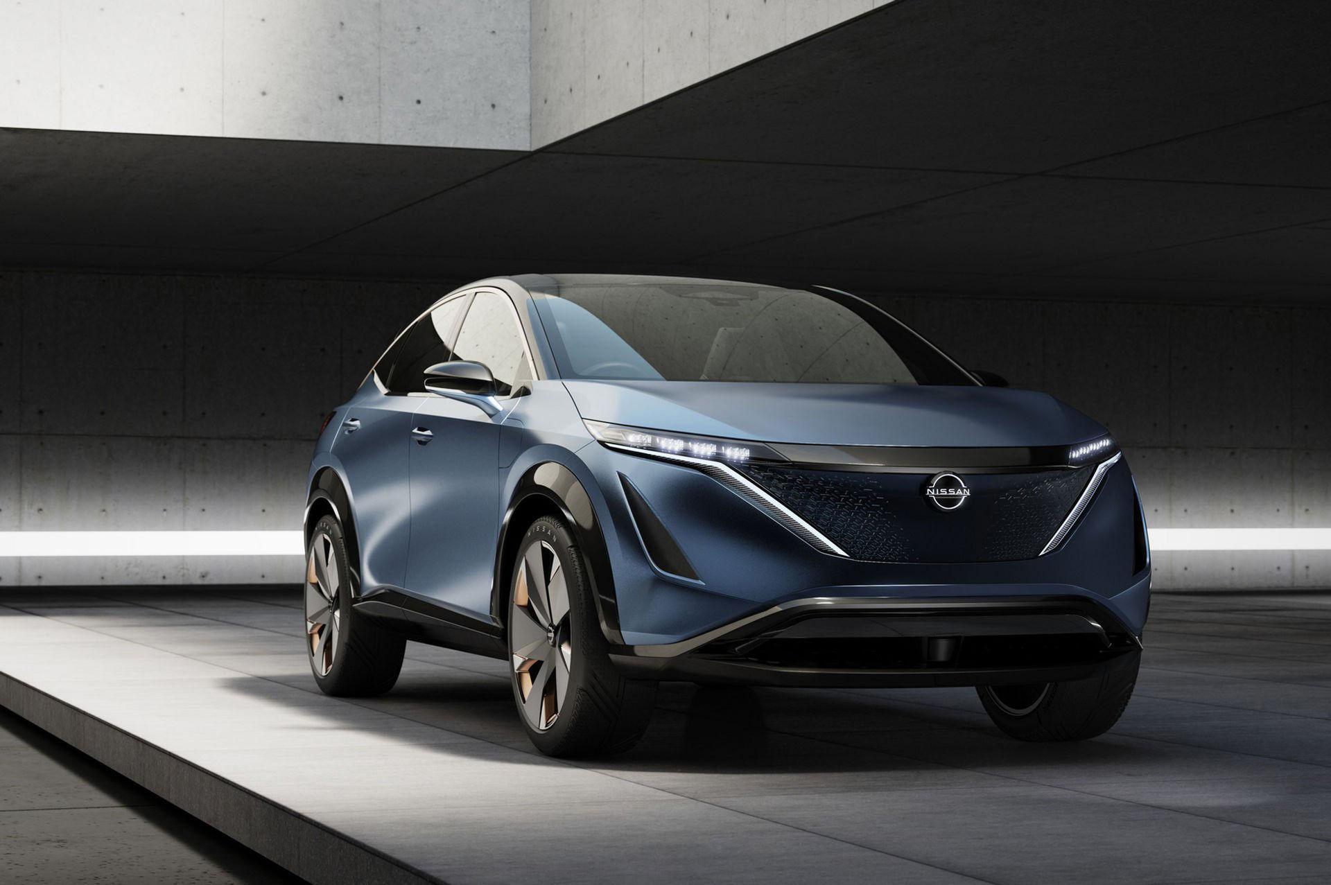 Nissan visar eldriven crossover