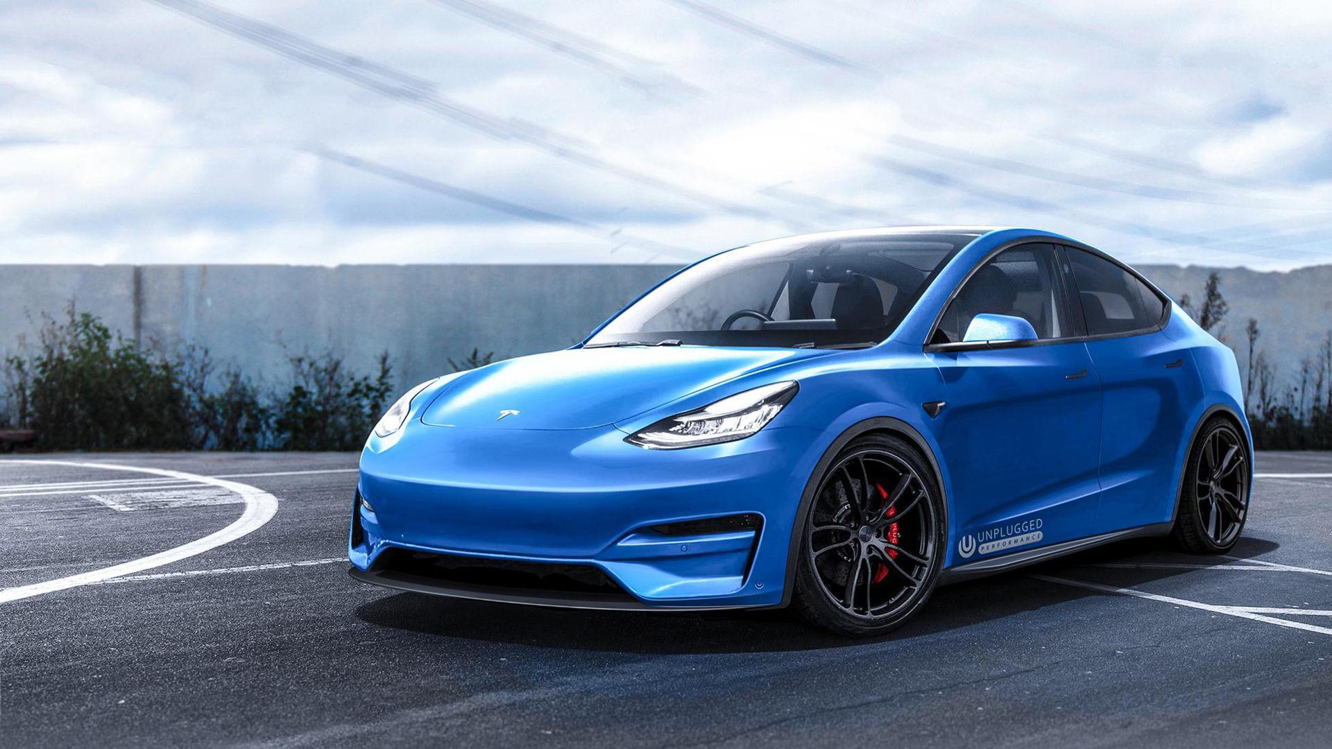 Unplugged Performance piffar till Tesla Model Y