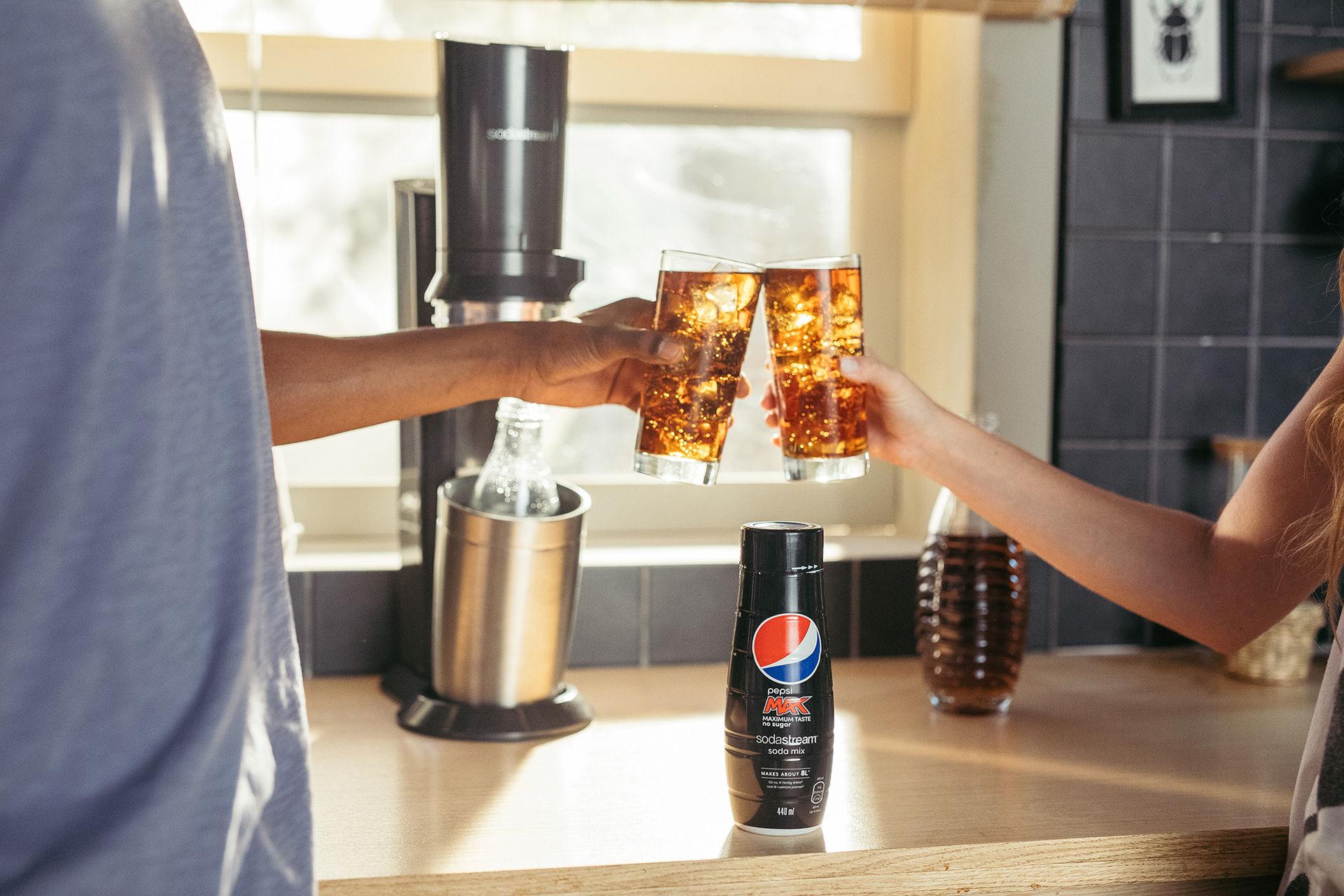 Nu kan du Sodastrema Pepsi hemma