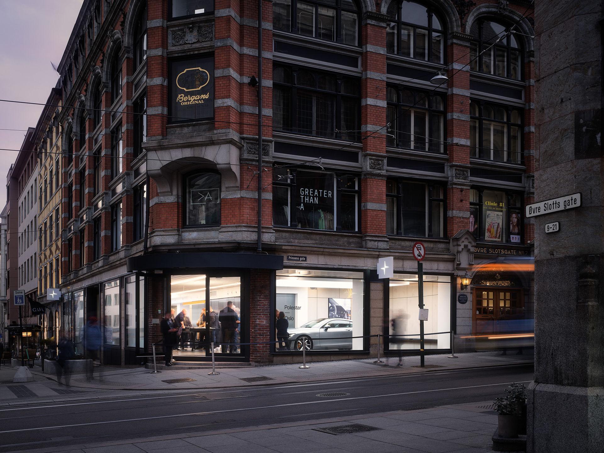 Polestars första showroom i Europa har öppnat