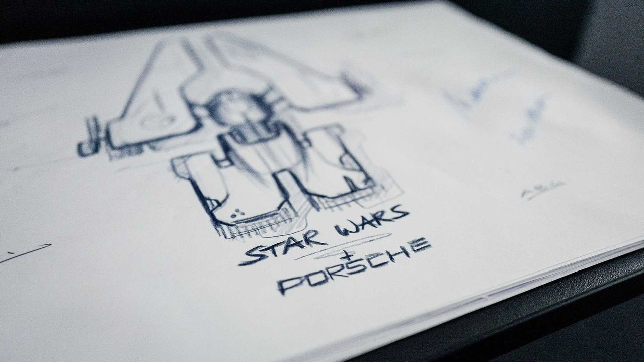 Porsche designar rymdskepp till The Rise of Skywalker