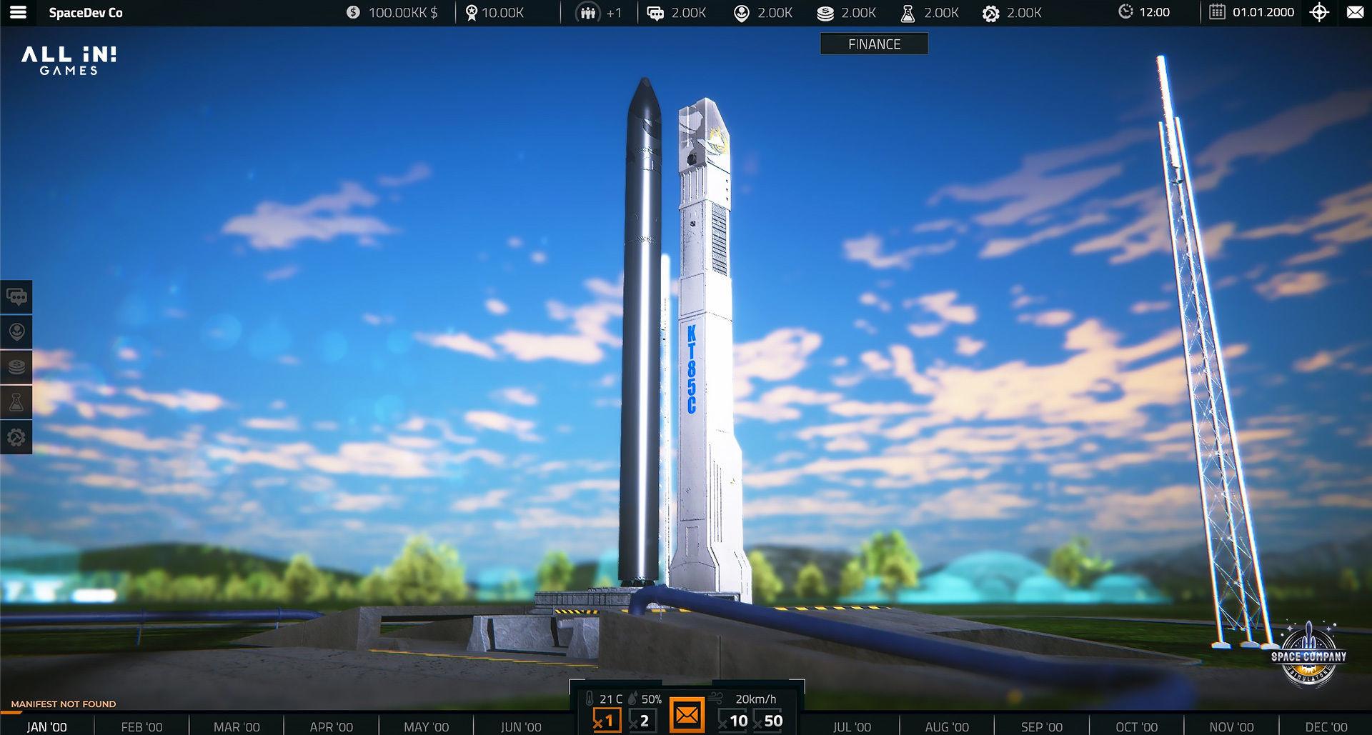 Bygg ett eget rymdföretag med Space Company Simulator