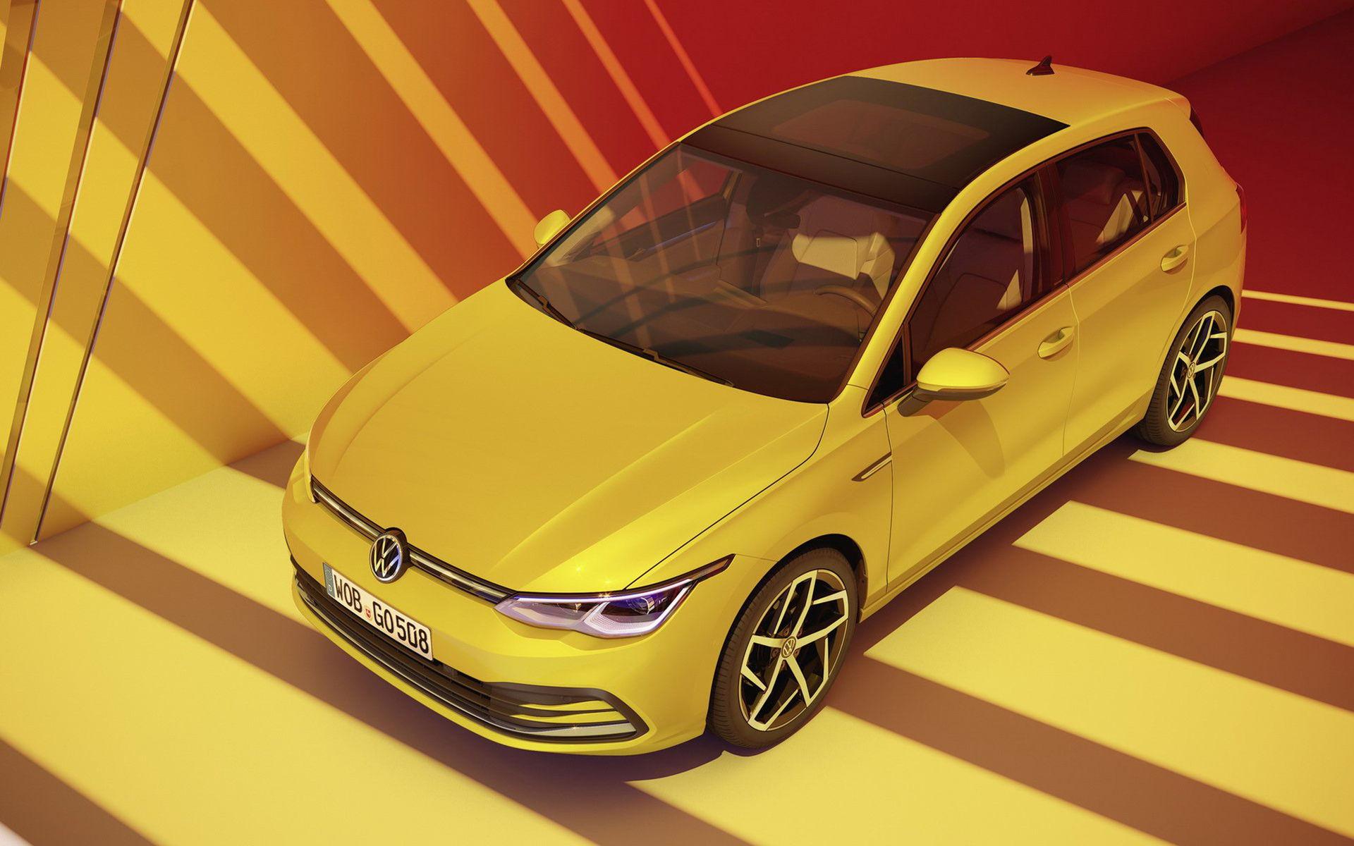 Nu är den här - nya Volkswagen Golf