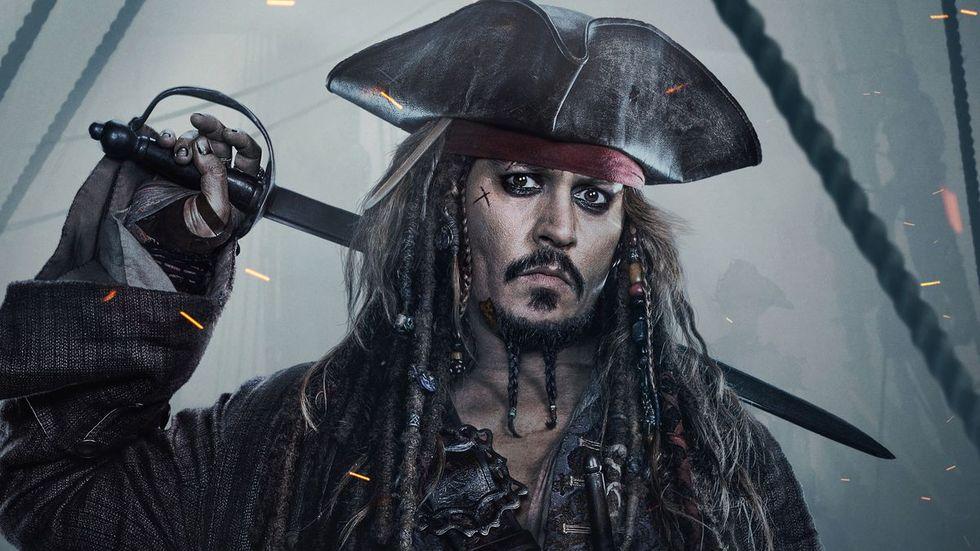 Det verkar bli mer Pirates of the Caribbean