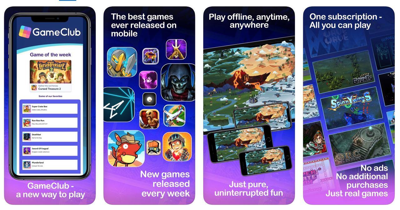 Prenumerera på gamla iOS spel