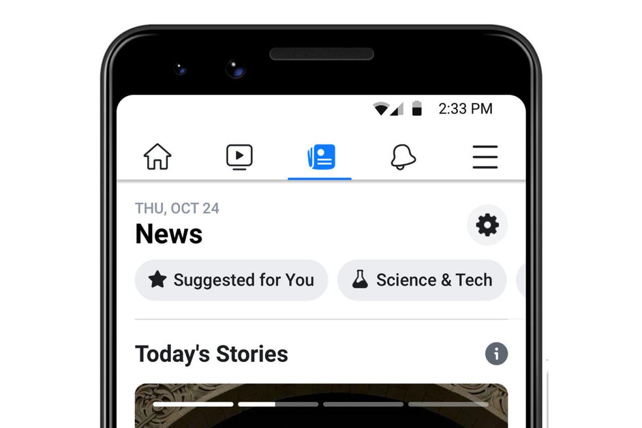 Facebook lanserar Facebook News