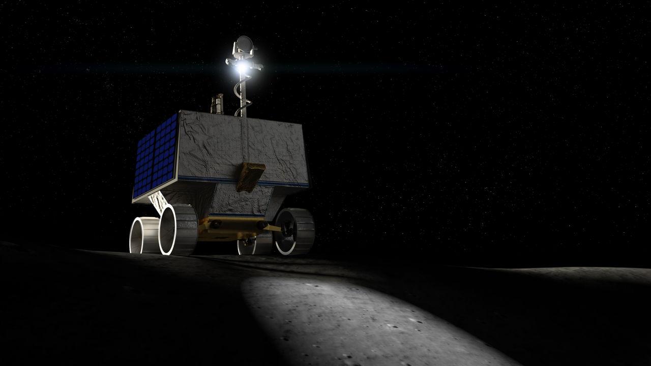 NASA:s VIPER ska leta efter vatten på månen