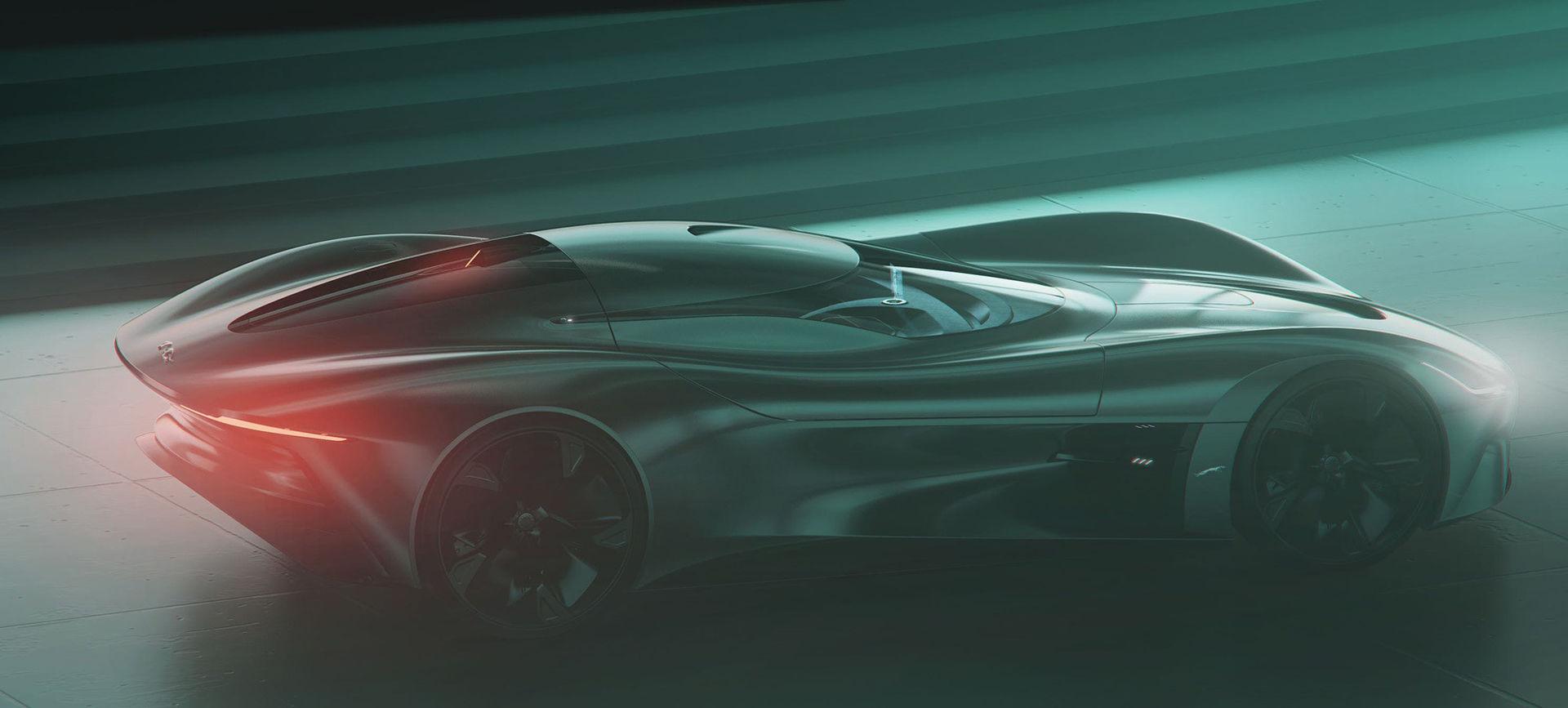 Det här är Jaguars nya eldrivna superbil
