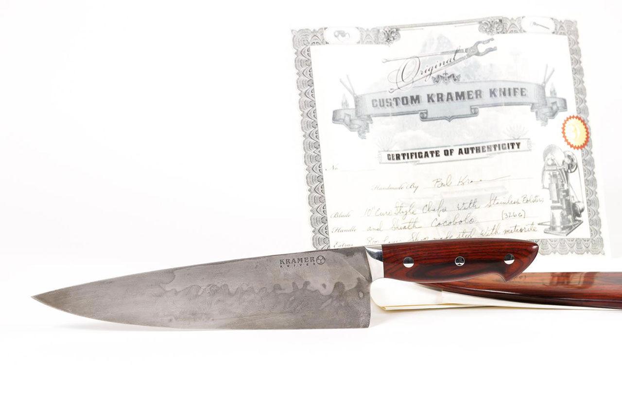 Kniv som tillhört Anthony Bourdain till salu