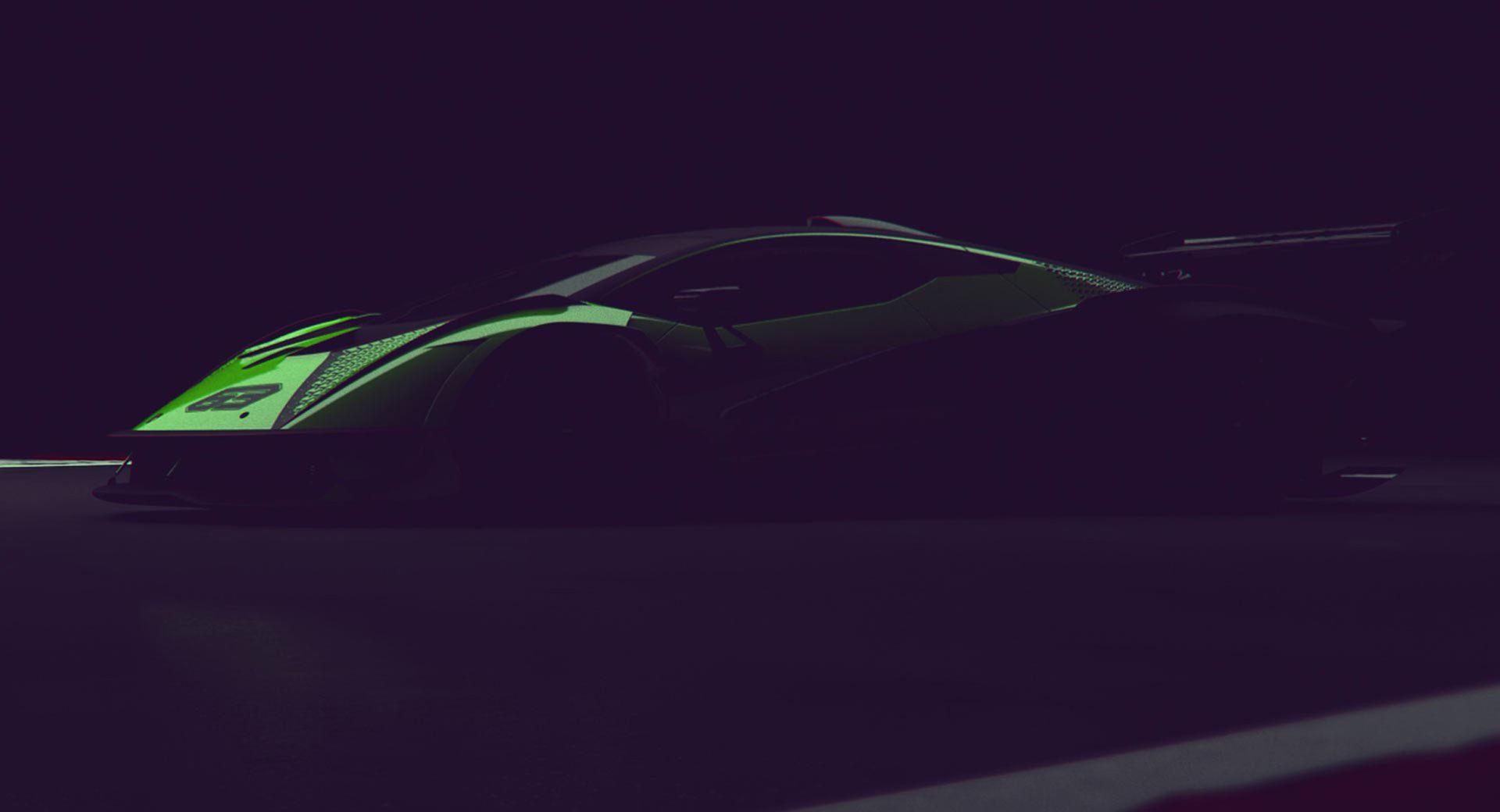 Ny superbil från Lamborghini baserad på Aventador