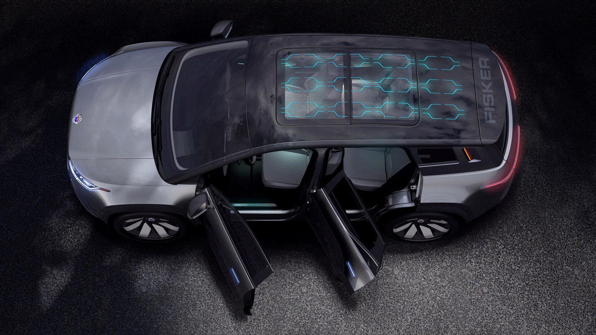 Fiskers eldrivna SUV visas upp som prototyp i januari