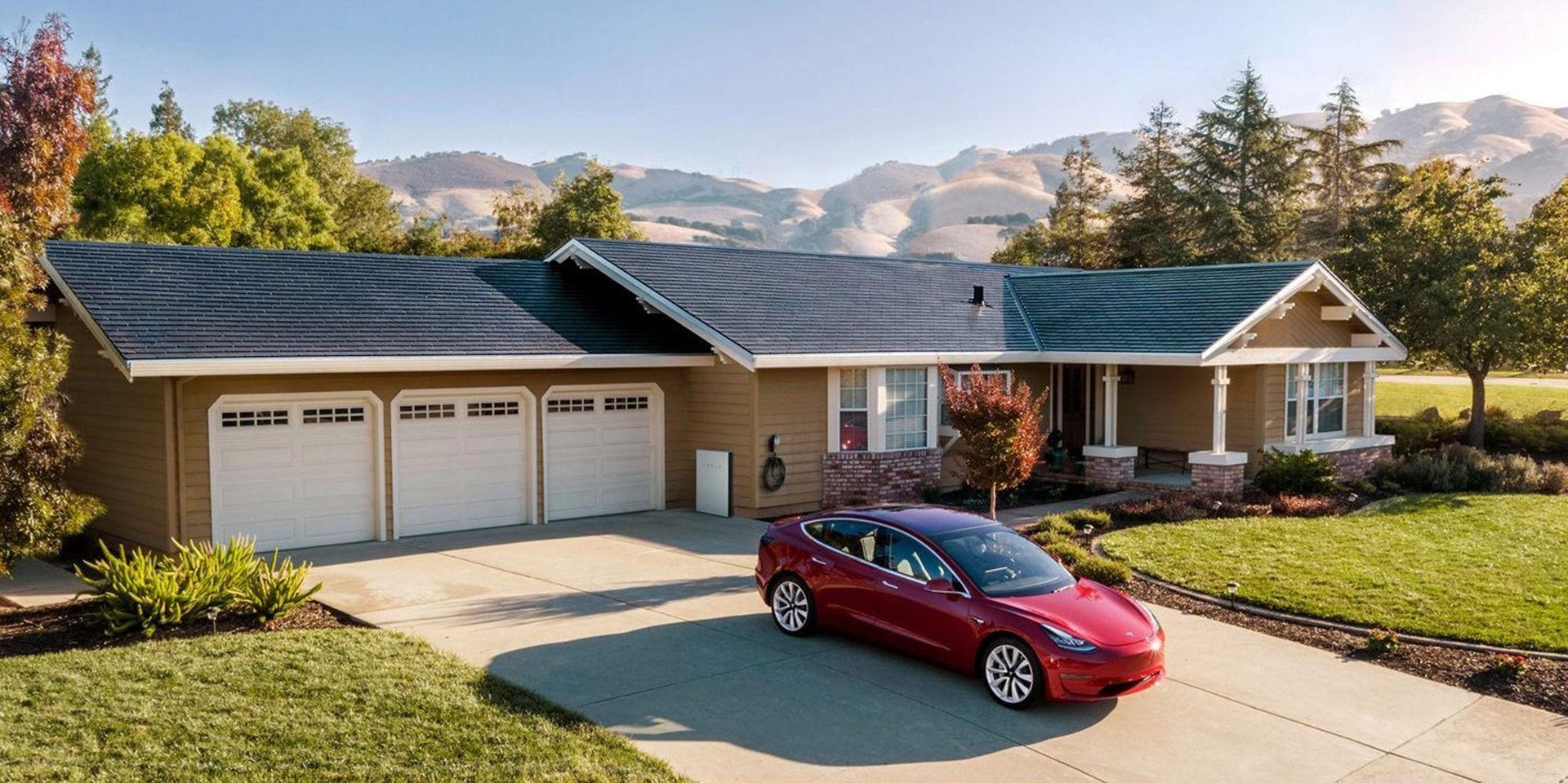 Tesla presenterar generation tre av sitt solcellstak
