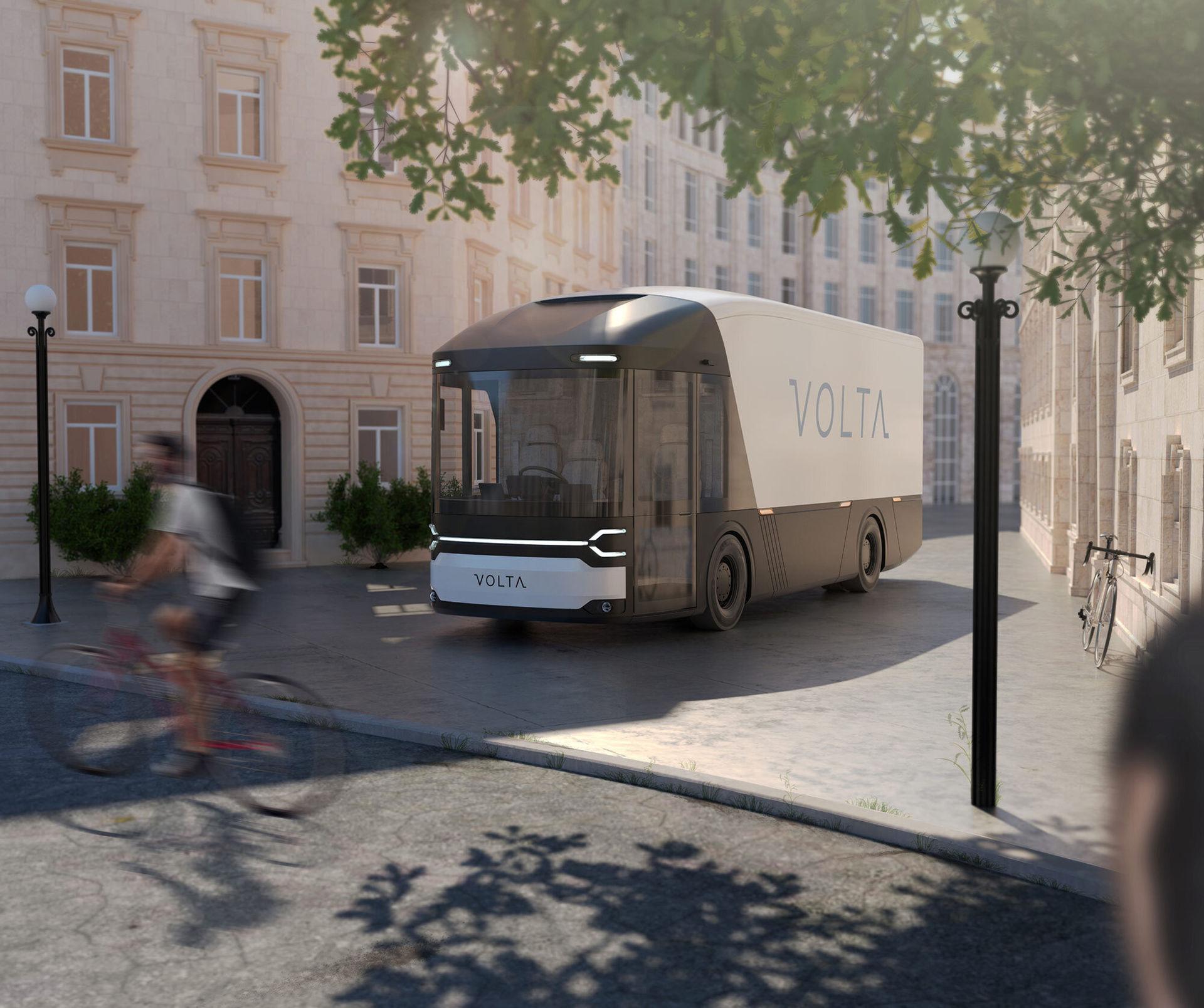 Volta visar eldrivet lastbilskoncept