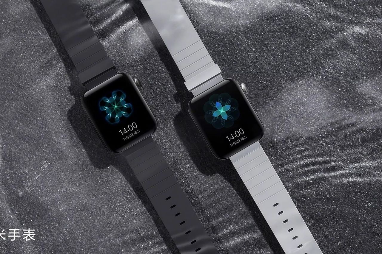 Xiaomis smartklocka ser ut som Apple Watch