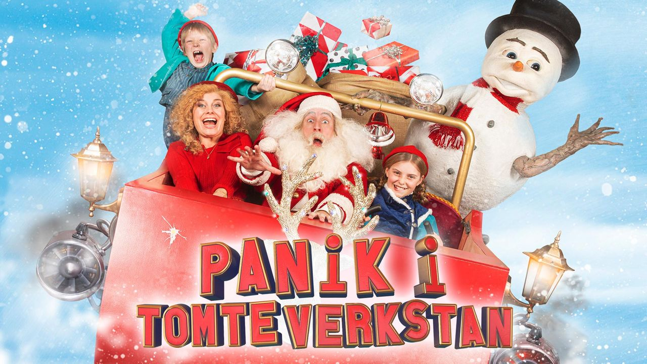 Årets julkalender heter Panik i tomteverkstan