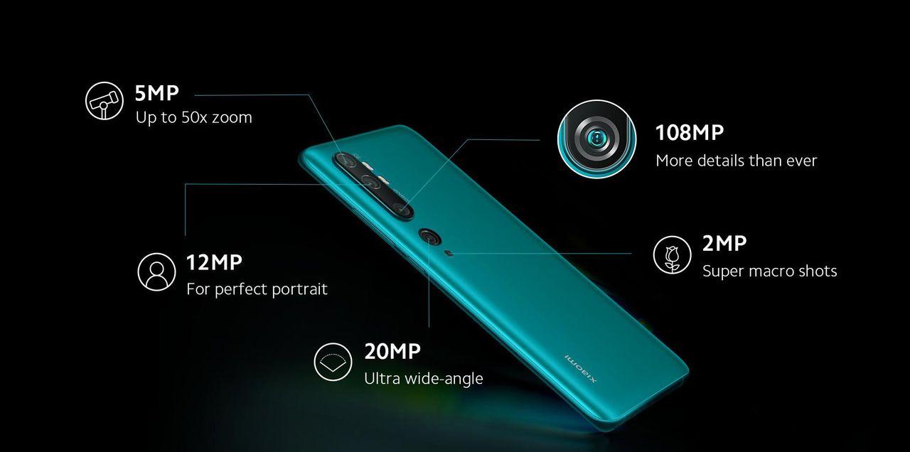 Xiaomis nya lur har fem kameror