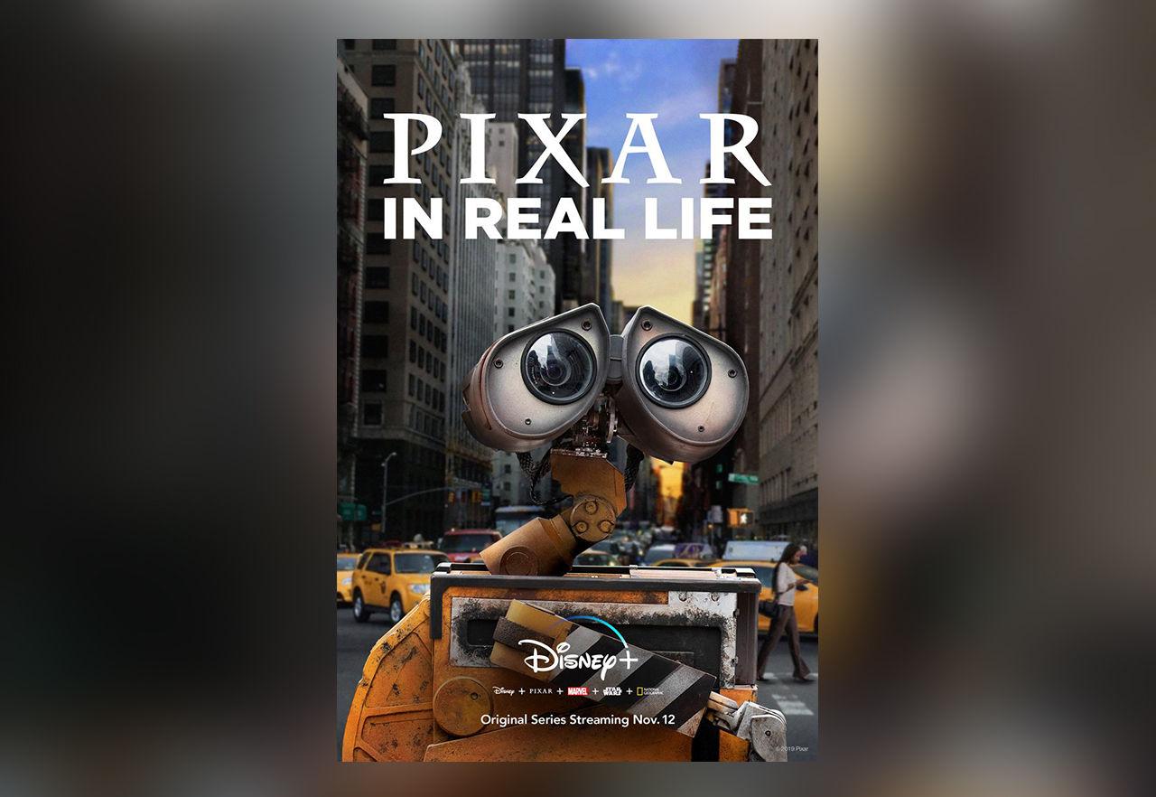 Pixar: In Real Life kommer till Disney+