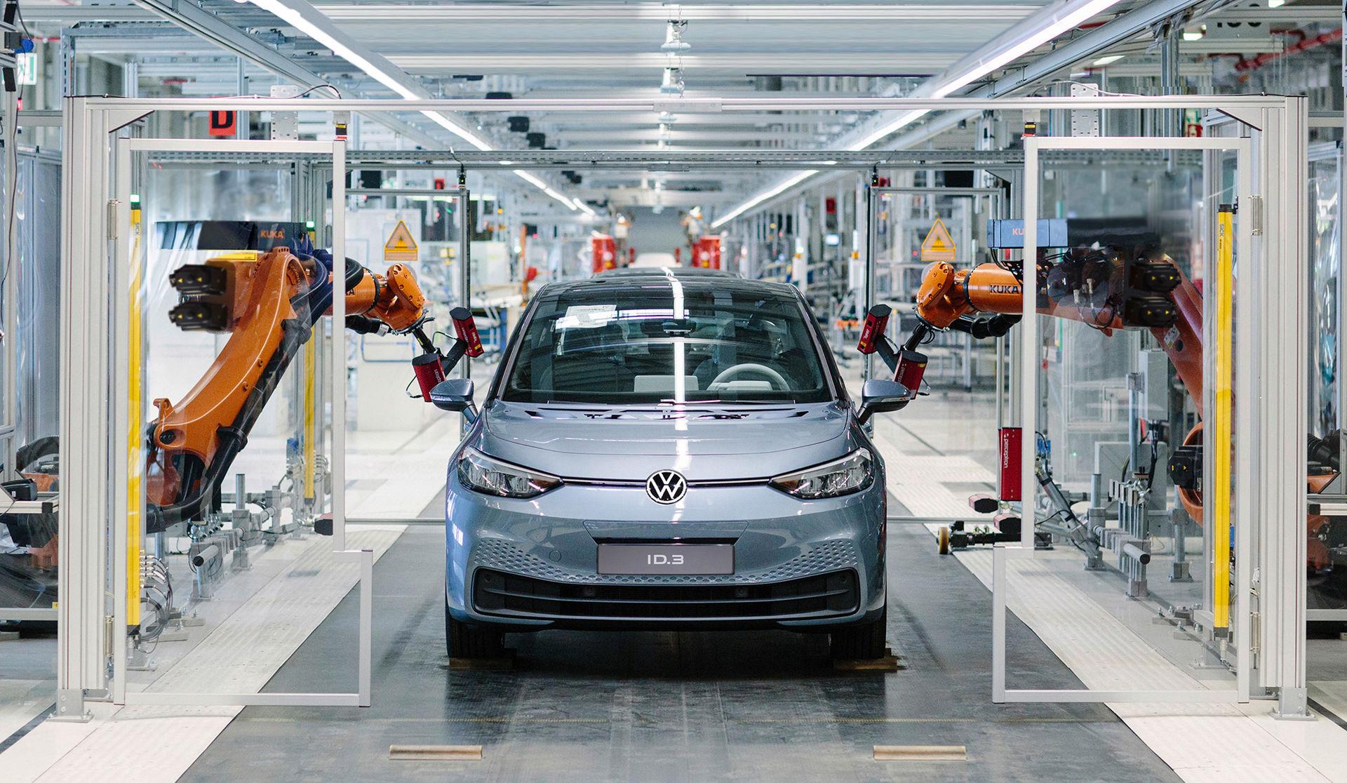 Tillverkningen av Volkswagen ID.3 har börjat