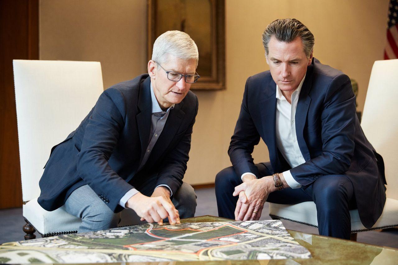 Apple ska bygga bostäder för 2,5 miljarder dollar