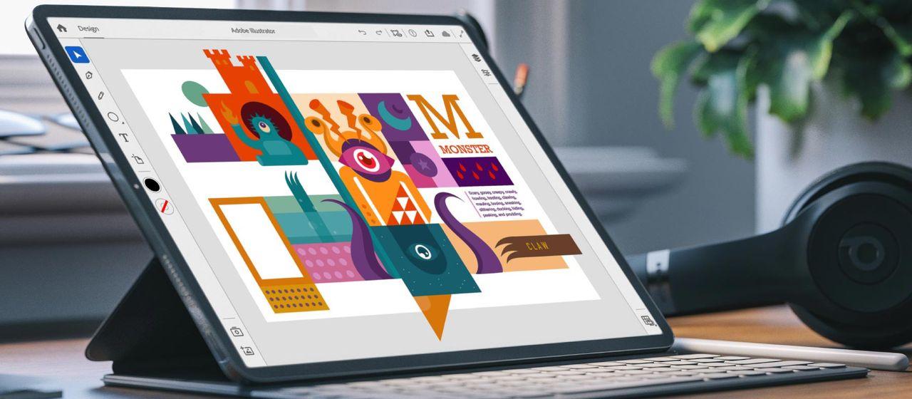 Adobe visar Illustrator för iPad