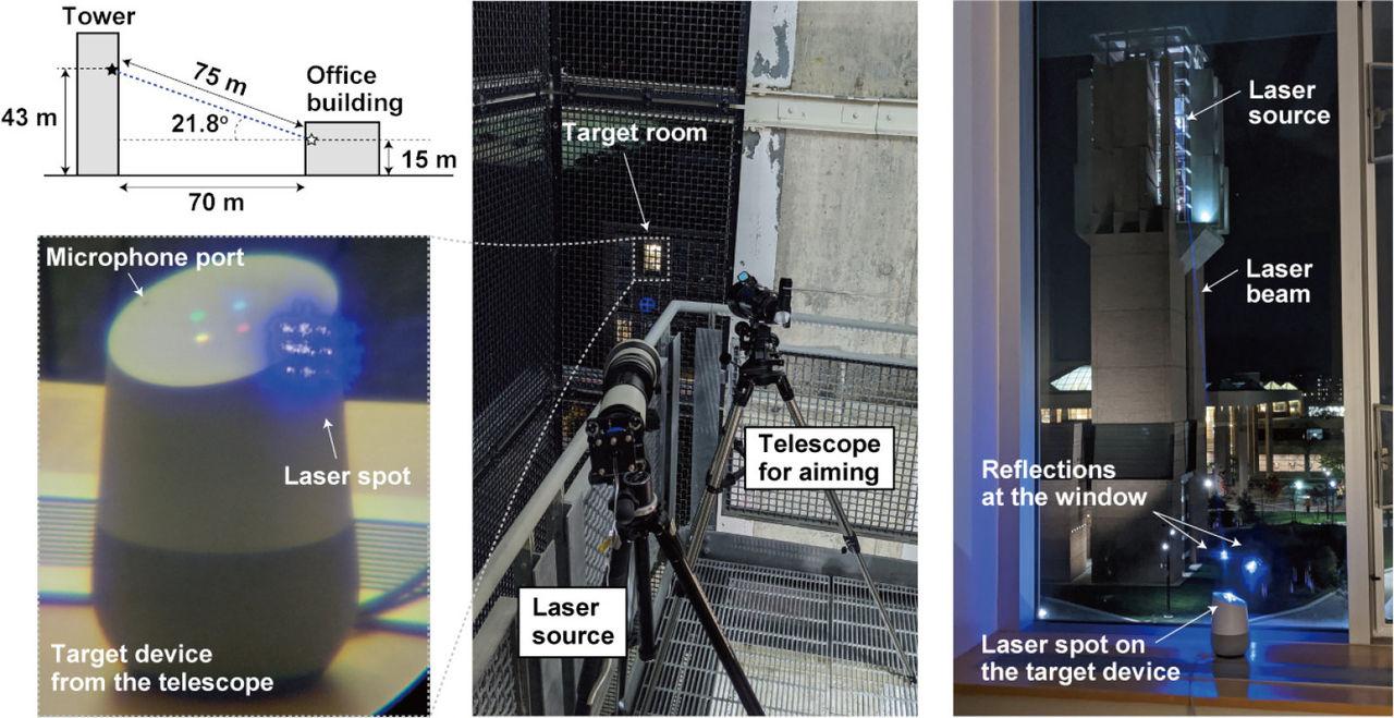 Laser kan användas för att hacka smarta assistenter